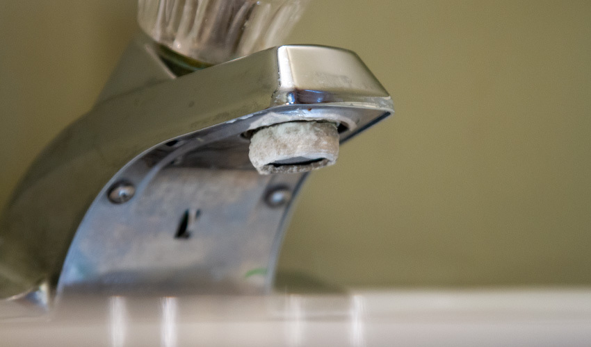 Why Is There Calcium Buildup on My Faucet?
